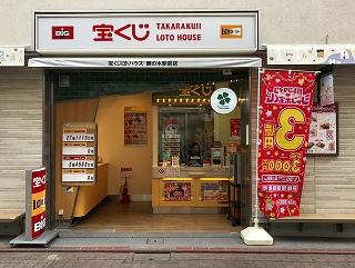 宝くじロトハウス 鵜の木駅前店 店舗外観