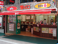 宝くじロトハウス 吉祥寺サンロード店 店舗外観